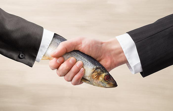 The Limp Fish Handshake