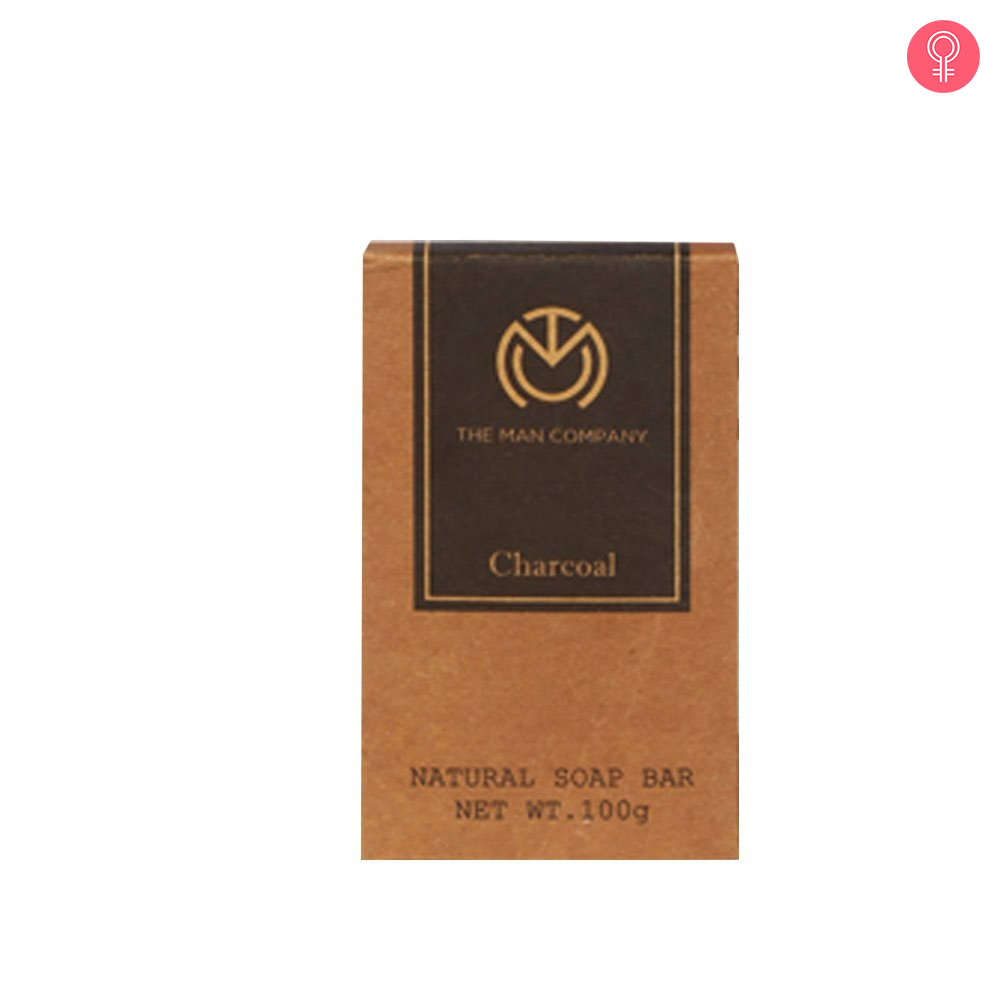 The Man Company Natural Charcoal Soap Bar