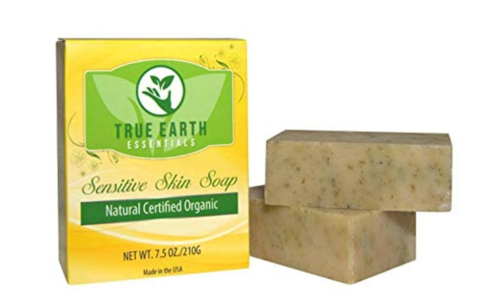True Earth Essentials Natural Bath Soap