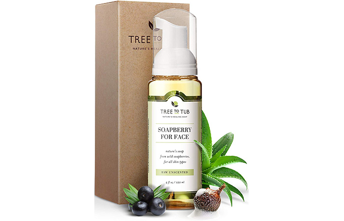 Ultra Gentle Unscented Sensitive Skin Face Wash by Tree To Tub