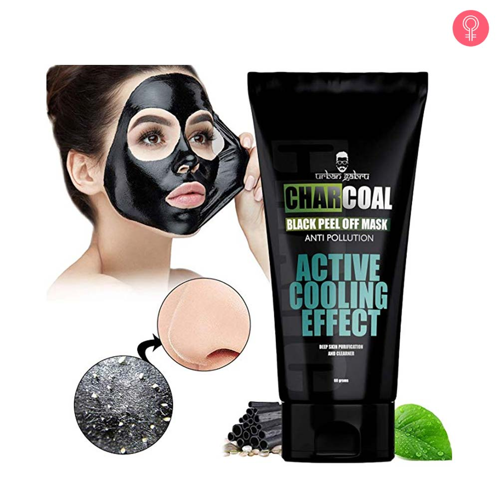 Urbangabru Charcoal Peel-Off Mask