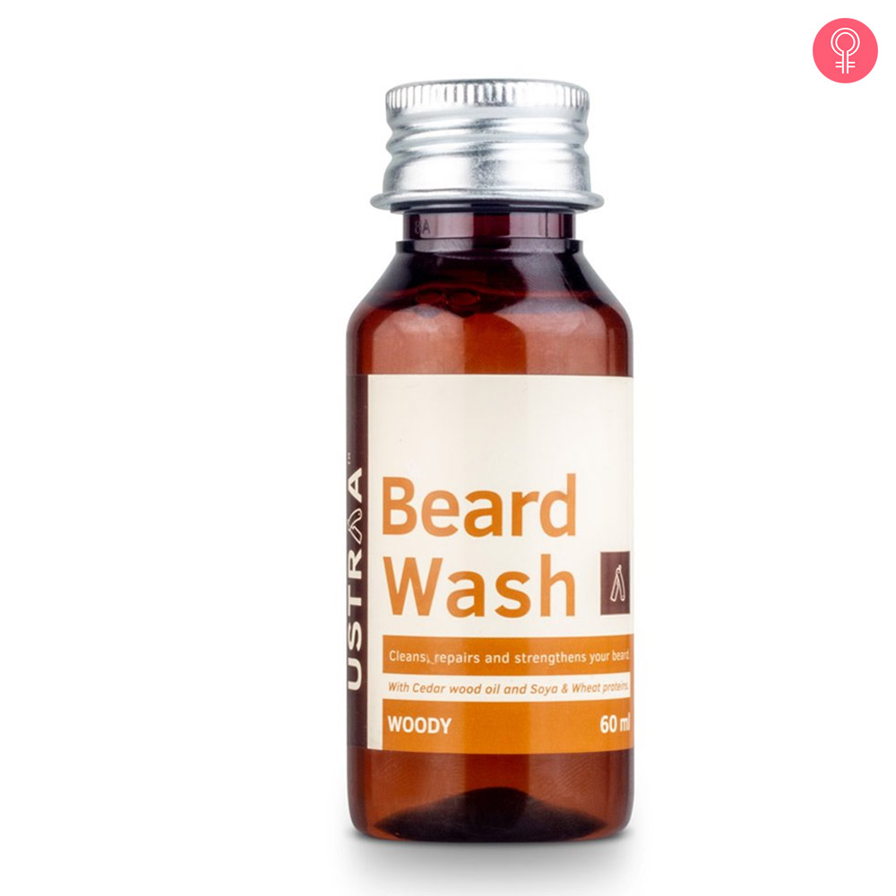 Ustraa Beard Wash Woody  For Men