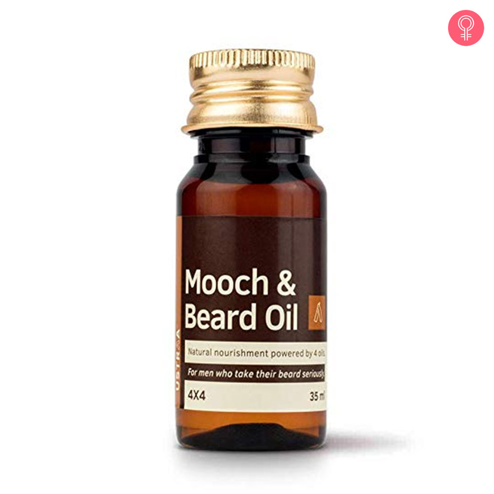Ustraa Mooch And Beard Oil