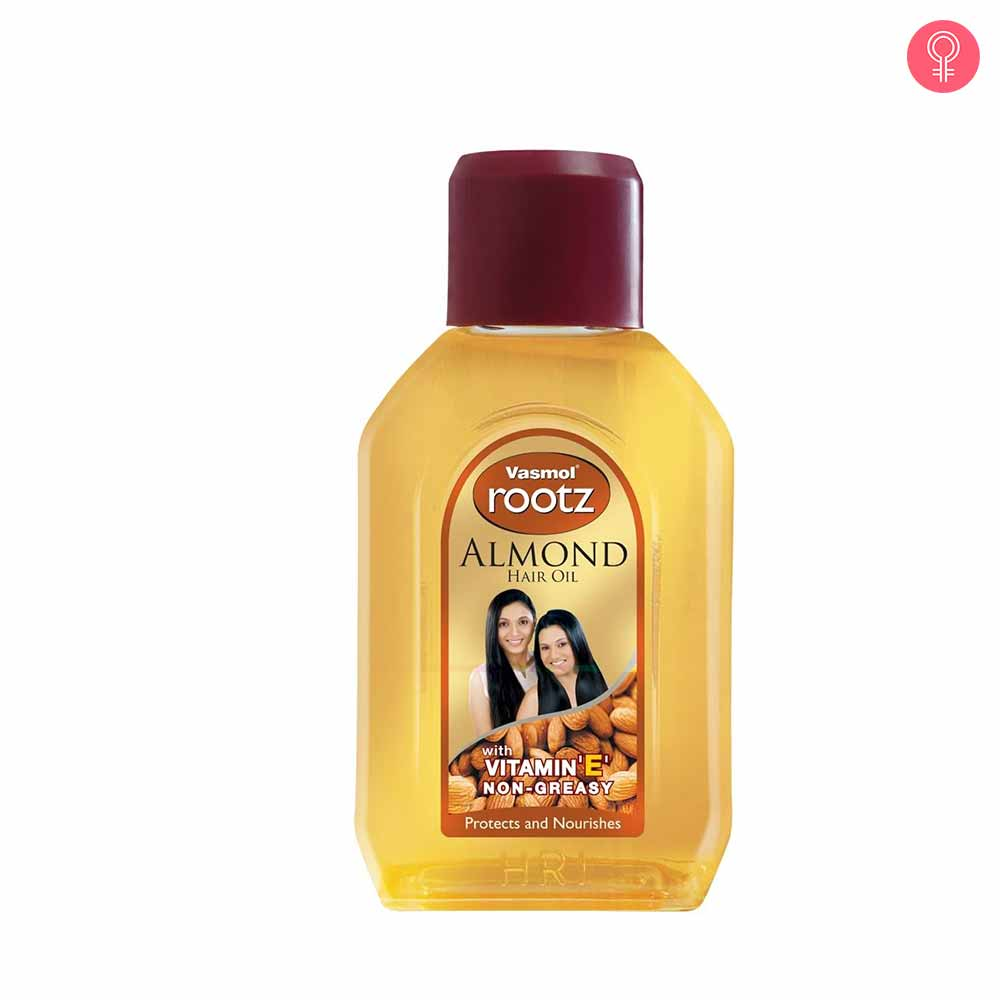 Vasmol Rootz Almond Hair Oil