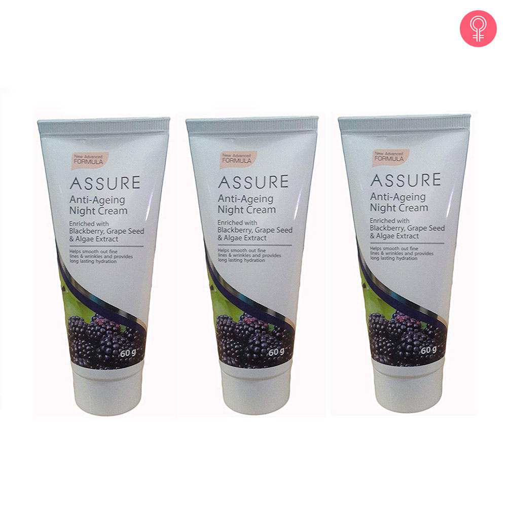 Vestige Assure Anti Ageing Night Cream