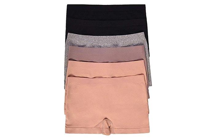 WS Womens Seamless Boy Shorts
