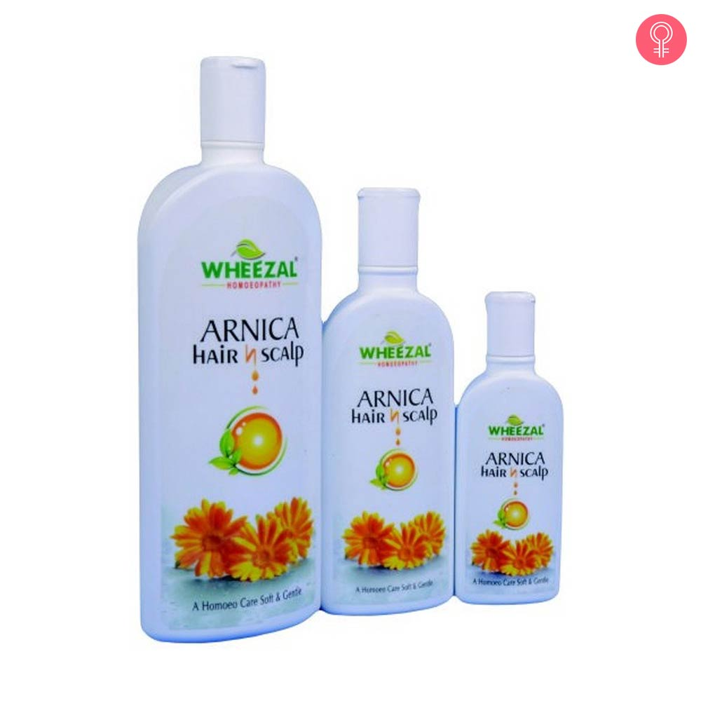 Wheezal Arnica Hair N Scalp Shampoo