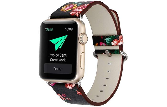 Yoswan Floral Bracelet For Apple Smartwatch