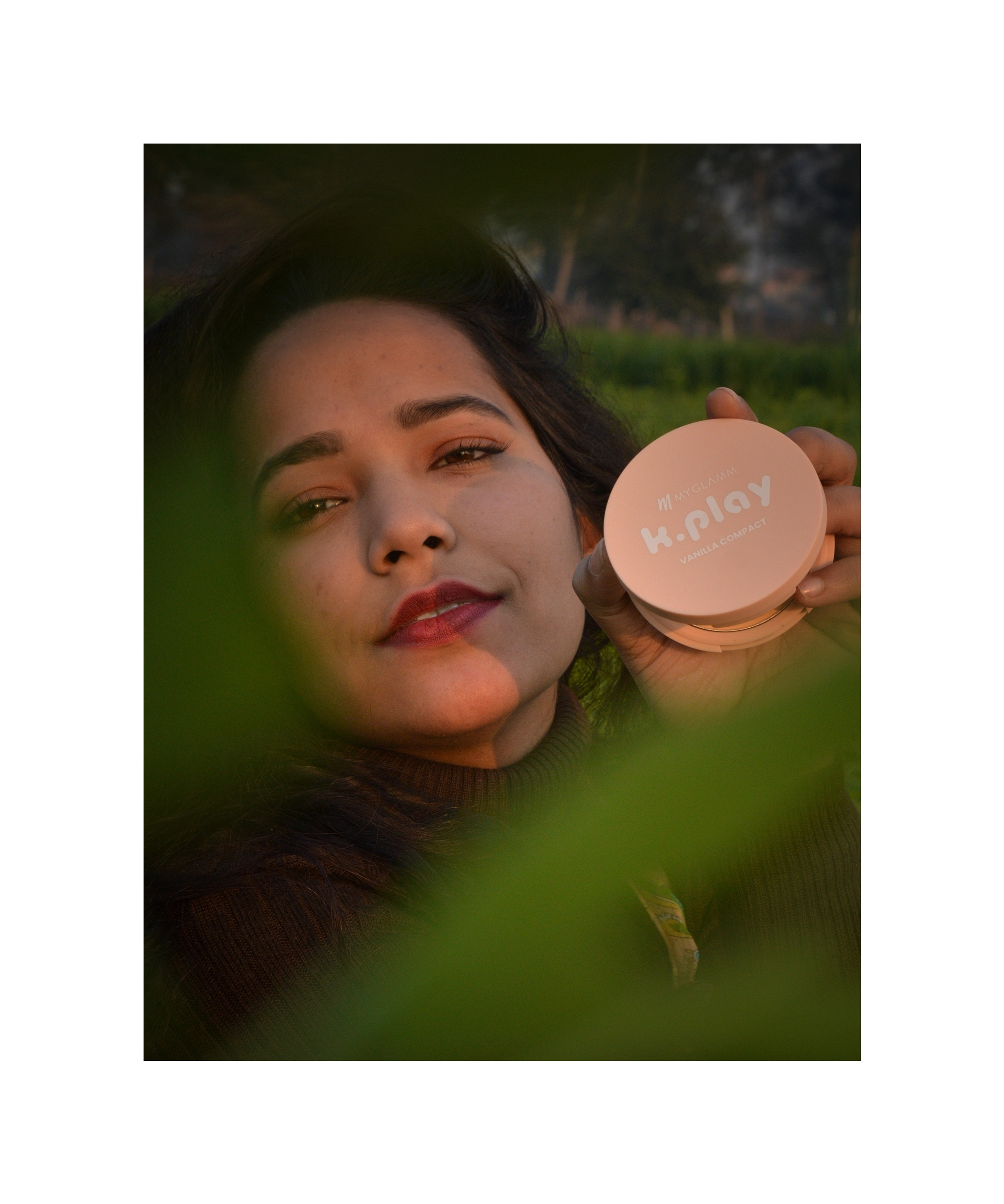 MyGlamm K.PLAY FLAVOURED COMPACT-First use of flavoured compact-By aarangofficial