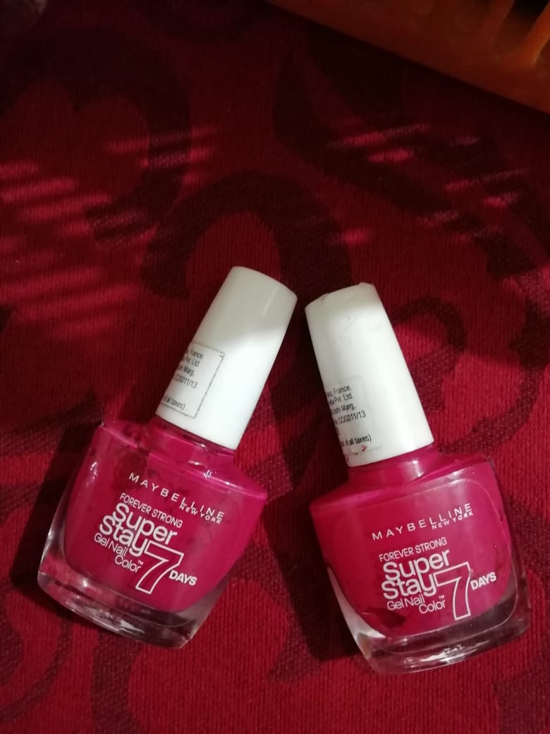 Maybelline New York Forever Strong Super Stay 7 Days Gel Nail Color-Long lasting Nail paint-By poonam_kakkar