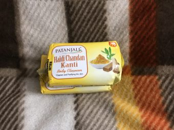 Patanjali Haldi Chandan Kanti Body Cleanser -Good body cleanser-By poonam_kakkar