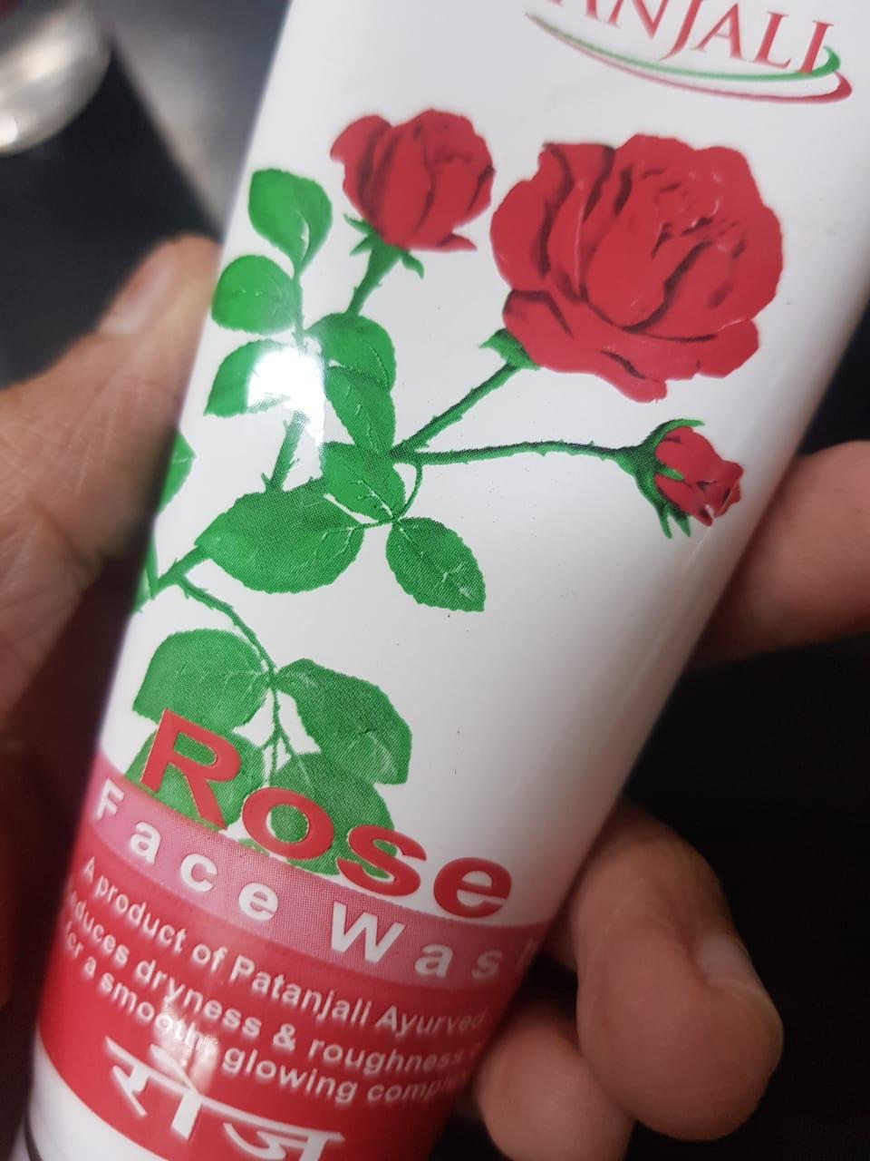 Patanjali Rose Face Wash -Rose face wash-By poonam_kakkar