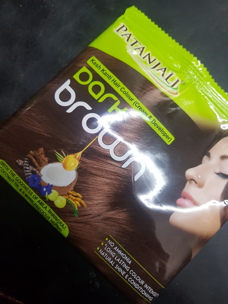 Patanjali Kesh Kanti Natural Black Hair Colour-Natural hair colour-By poonam_kakkar
