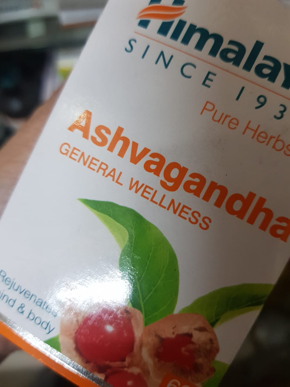 Himalaya Wellness Pure Herbs Ashvagandha Tablets-For wellness-By poonam_kakkar