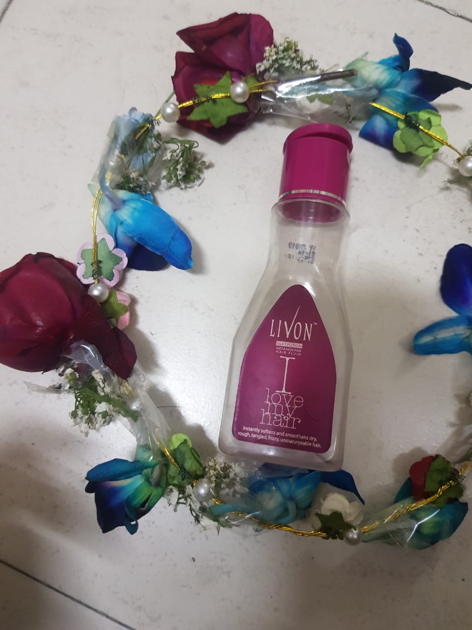 Livon Silky Potion Detangling Hair Fluid-My first serum brand-By poonam_kakkar
