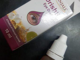 Patanjali Drishti Eye Drop -For cleaning the eyes-By poonam_kakkar