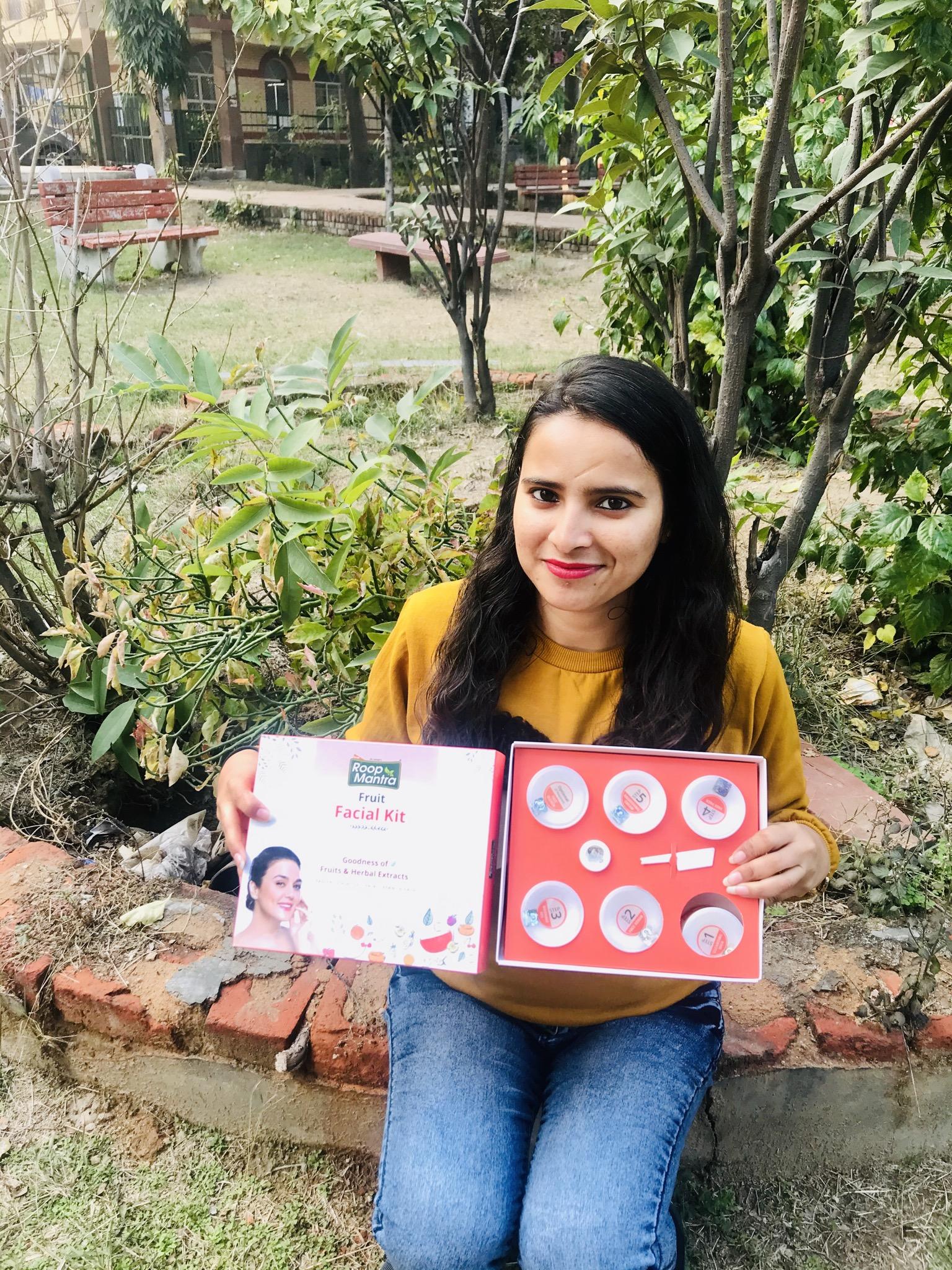 Roop Mantra Fruit Facial Kit-Facial at home-By himaninailwal-2