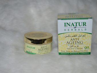 Inatur Anti-Ageing Night Cream -Best Night Cream-By pallavi_tiwari