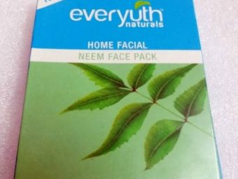 Everyuth Home Facial Neem Face Pack -natural facepack-By fashionalaya_