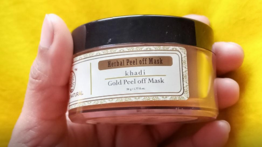 Khadi Natural Gold Peel Off Mask-One of the best mask-By amisha_sachan-1