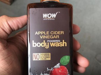 WOW APPLE CIDER VINEGAR BODY WASH -Good one descent product-By sanna
