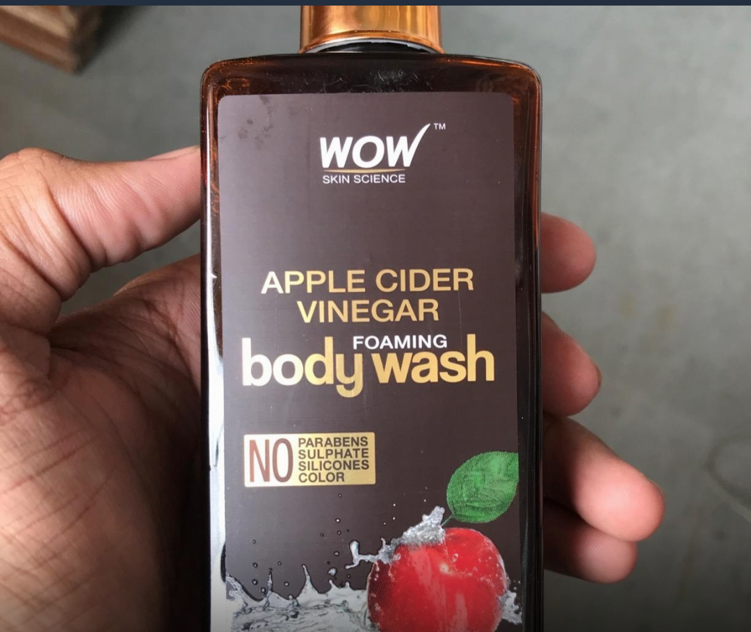 WOW APPLE CIDER VINEGAR BODY WASH-Good one descent product-By sanna