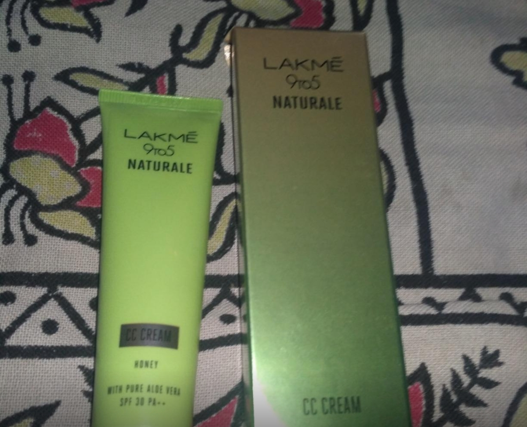 Lakme 9 To 5 Naturale Cc Cream-Good for everyday makeup-By sanna-1