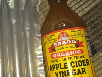 Bragg Organic Raw Apple Cider Vinegar pic 2-Raw unfiltered and unpasteurized-By sanna