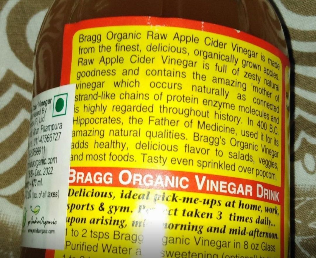 Bragg Organic Raw Apple Cider Vinegar-Raw unfiltered and unpasteurized-By sanna-1