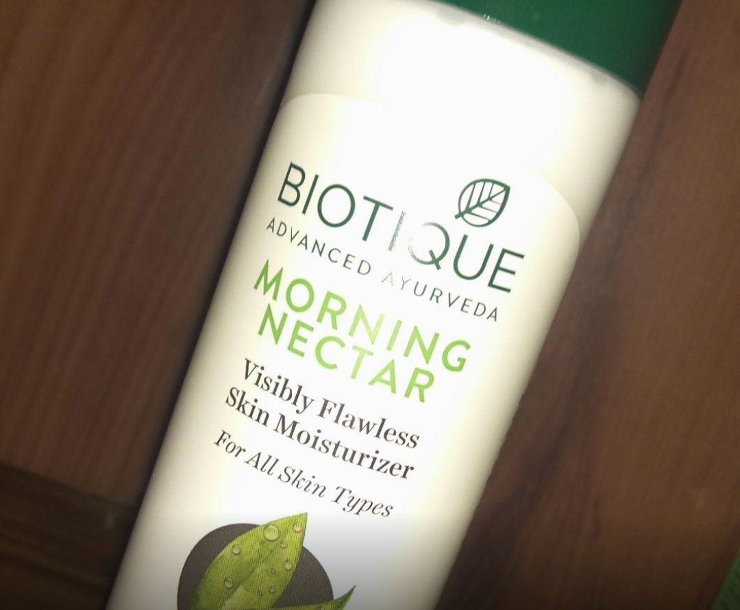 Biotique Morning Nectar Visibly Flawless Skin Moisturizer-Really a great product-By sanna-2