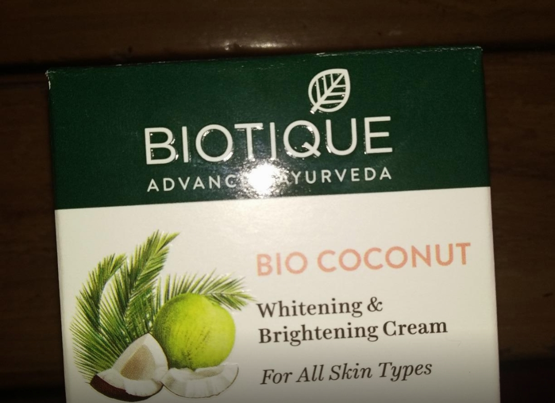 Biotique Bio Coconut Whitening & Brightening Cream-Best one-By sanna-2