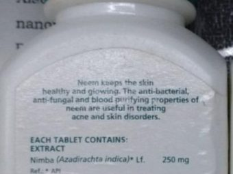 Himalaya Neem Tablets pic 1-Best for acne-By sanna