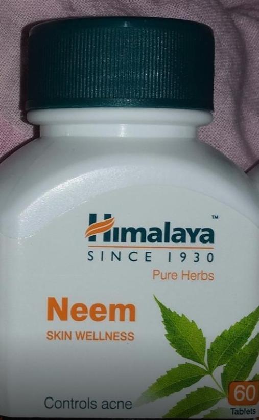 Himalaya Neem Tablets-Best for acne-By sanna-2