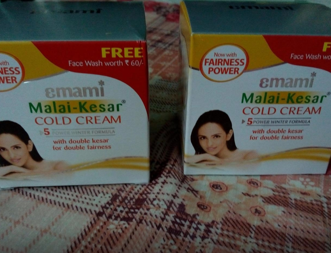 Emami Malai Kesar Cold Cream-Good for winters-By sanna-2