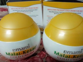 Emami Malai Kesar Cold Cream pic 1-Good for winters-By sanna