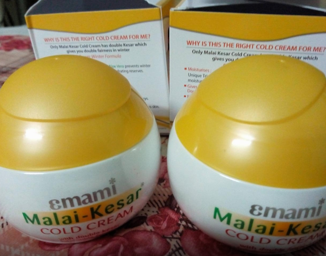 Emami Malai Kesar Cold Cream-Good for winters-By sanna-1