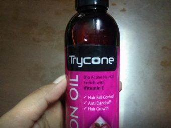 Trycone Onion Hair Oil with Vitamin E,100% Natural Oils and Herbs pic 1-Bestest oil-By sanna