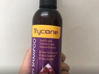 Trycone Onion Shampoo pic 2-Bestest sampoo-By sanna