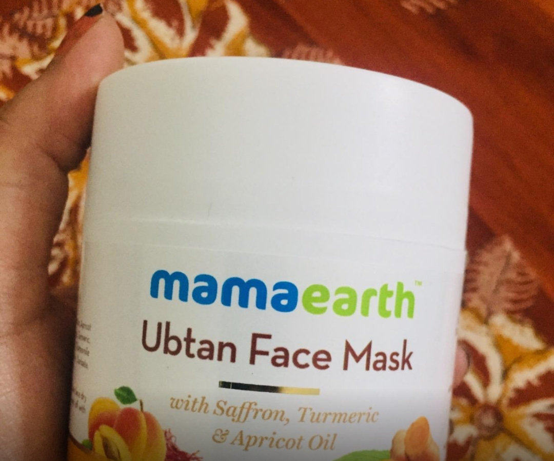 MamaEarth Ubtan Face Mask pic 2-Really amazing-By sanna