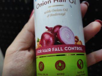 MamaEarth Onion Hair Oil pic 1-Bestest-By sanna