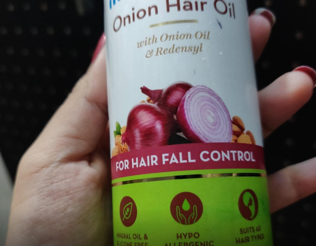 MamaEarth Onion Hair Oil-Bestest-By sanna-1