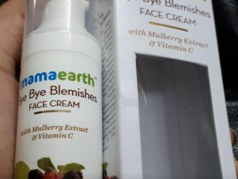 Mamaearth Bye Bye Blemishes Face Cream pic 1-Really works-By sanna