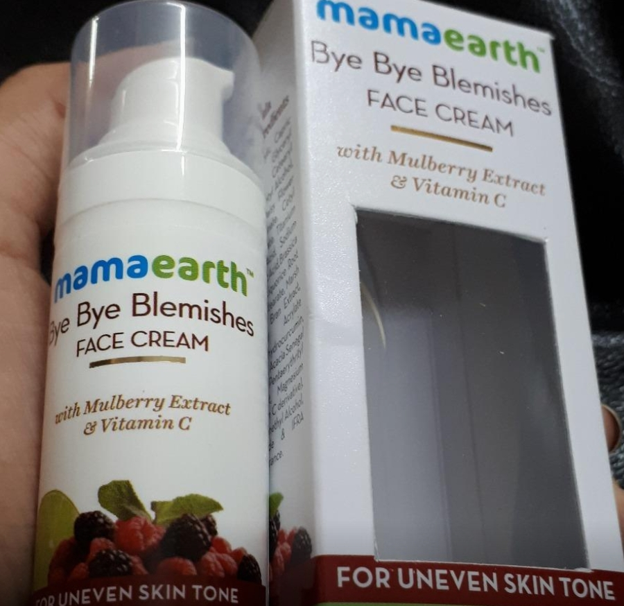 Mamaearth Bye Bye Blemishes Face Cream-Really works-By sanna-1