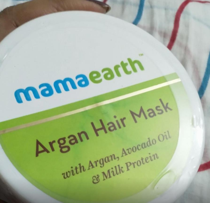 Mamaearth Argan Hair Mask-Works wonder-By sanna-1