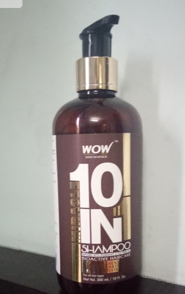 WOW Skin Science Miracle 10 in 1 Shampoo-Not that much good-By sanna-1