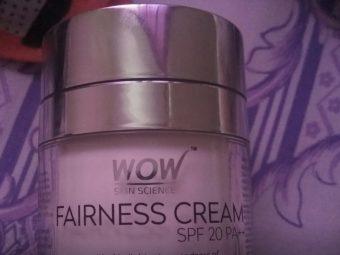 WOW Skin Science Fairness Cream SPF 20 pa++ pic 2-Good cream-By sanna