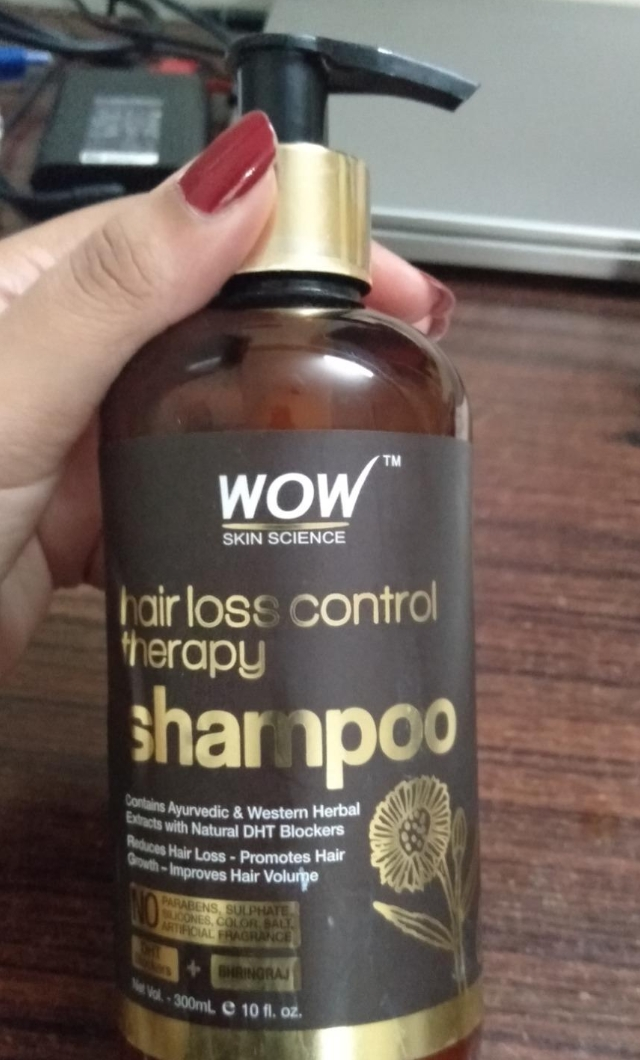 Wow Skin Science Hair Loss Control Therapy Shampoo pic 1-Didnt stop hairfall-By sanna