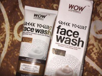 WOW Skin Science Greek Yogurt Gel Face Wash pic 1-Best for dry skin-By sanna