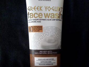 WOW Skin Science Greek Yogurt Gel Face Wash pic 2-Best for dry skin-By sanna