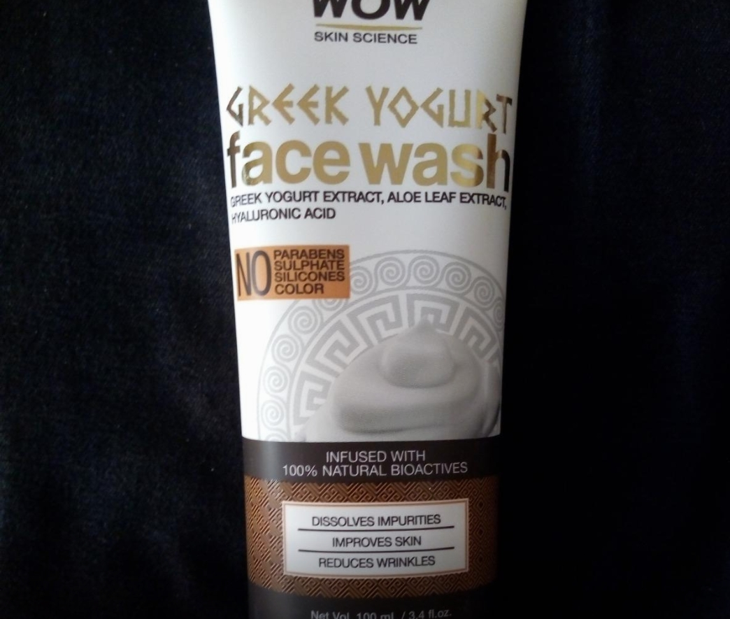WOW Skin Science Greek Yogurt Gel Face Wash-Best for dry skin-By sanna-2